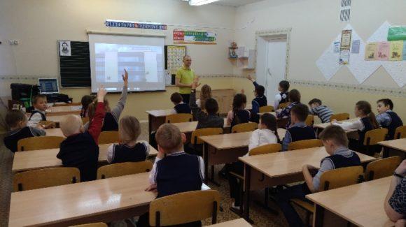 Общее дело в школе №8 города Кирова
