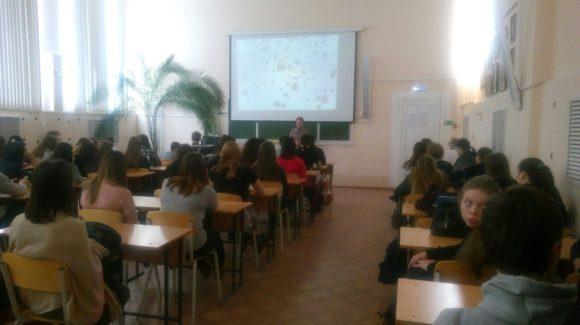 Студентам Агропромышленного колледжа г. Пермь был представлен фильм «Секреты манипуляции. Табак».