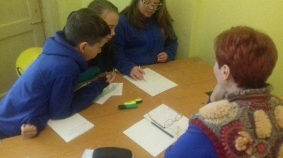 В Конец-Борской школе города Краснокамск началась учёба для будущих волонтёров.