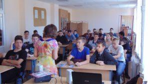 Активисты ОО «Общее дело» провели встречу в Таганрогском колледже морского приборостроения