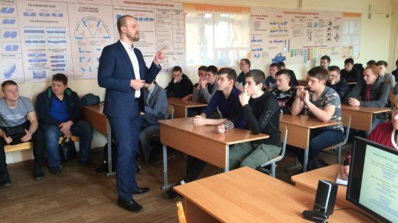 Руководитель Красноярского краевого отделения ОО «Общее дело» встретился со студентами индустриально-металлургического техникума
