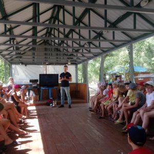 Общее дело в детском лагере » Олимпиец » города Энгельс Саратовской области