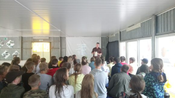 Общее дело в детском лагере «Романтик» города Саратова