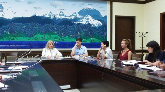 Презентация проектов Общего дела на встрече с заместителем главы города Сочи