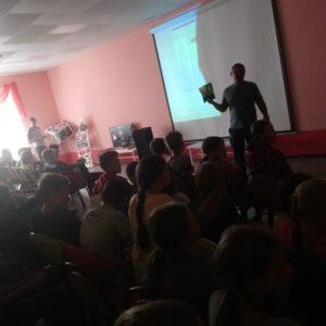 Общее дело в детском оздоровительном лагере «Дружба» Саратовской области