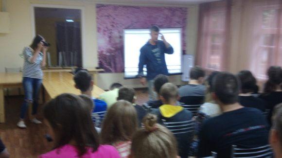 Общее дело в детском лагере «Маяк» Саратовской области