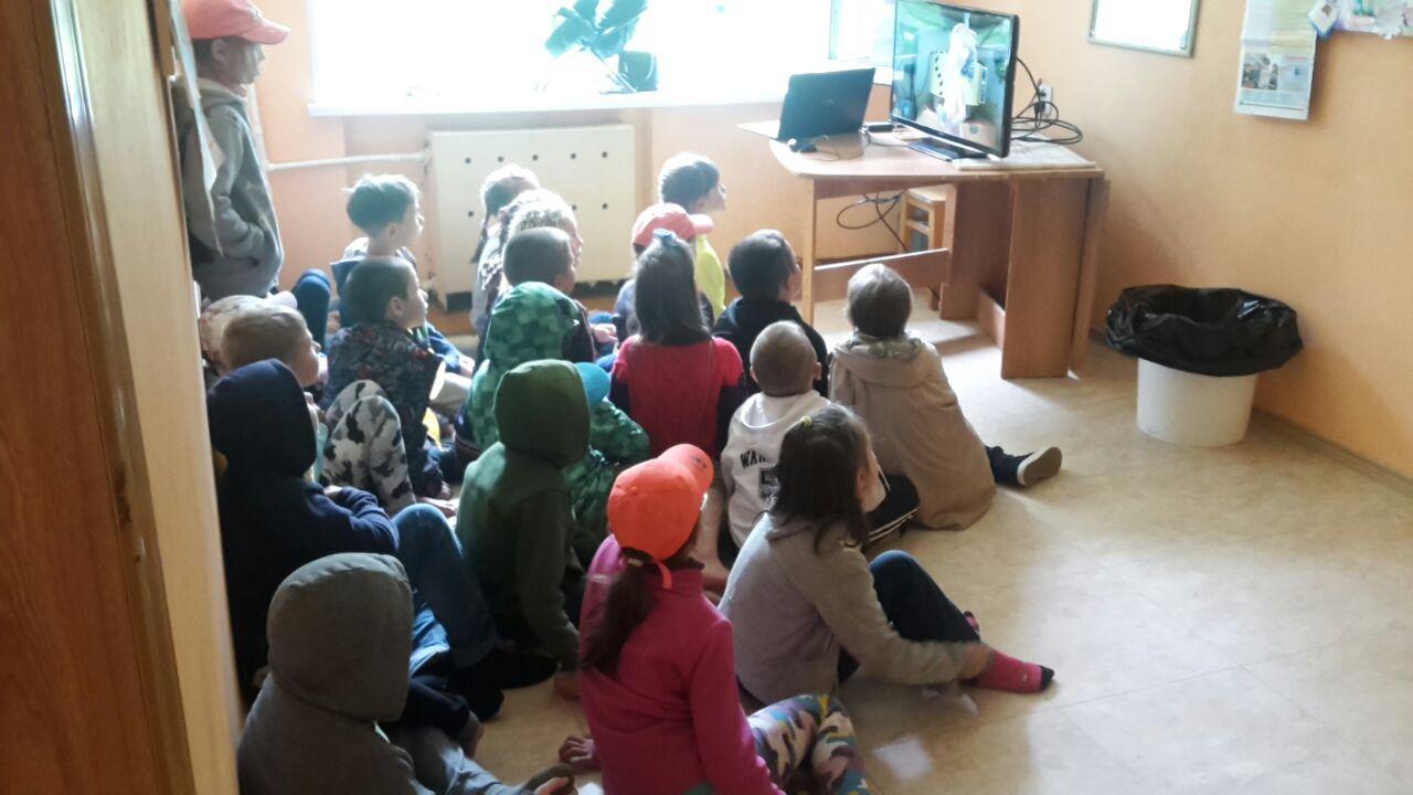 """Общее дело в детском лагере """" Восход """" Камчатского края"""