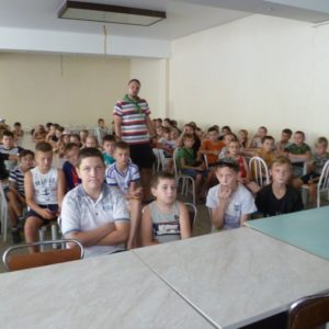 Общее дело в детском оздоровительном лагере «Орлёнок» посёлок Сосны Белокалитвенского района Ростовской области