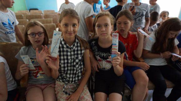 Лекция в детском лагере «Пионерия Татарстана»