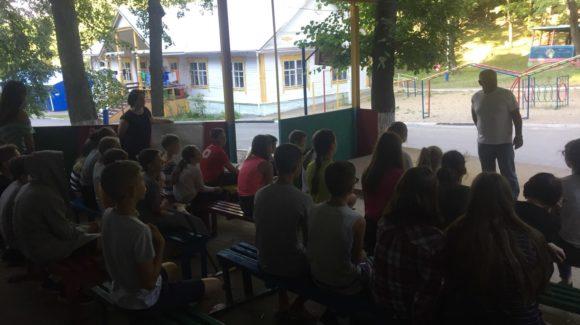 Общее дело в детском лагере «Маяк» города Саратова