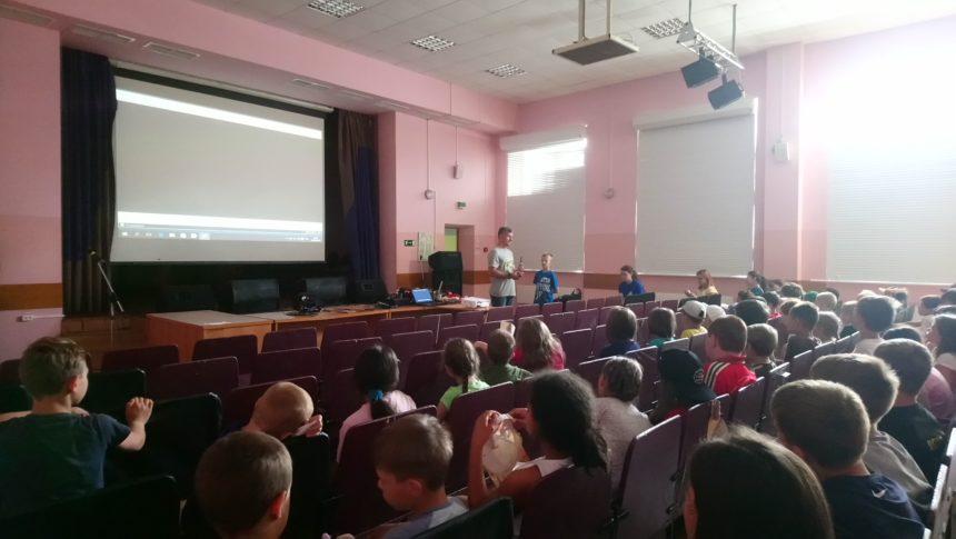 Общее дело в детском оздоровительном лагере «Осташево» Волоколамского района Московской области