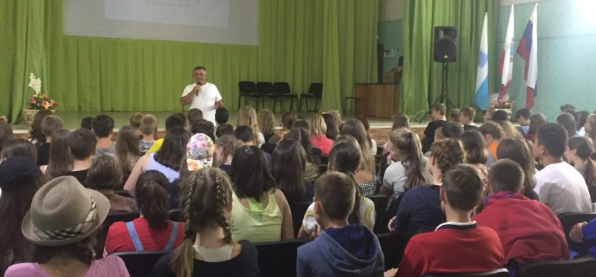 Общее дело в детском центре «Дубки» города Саратова