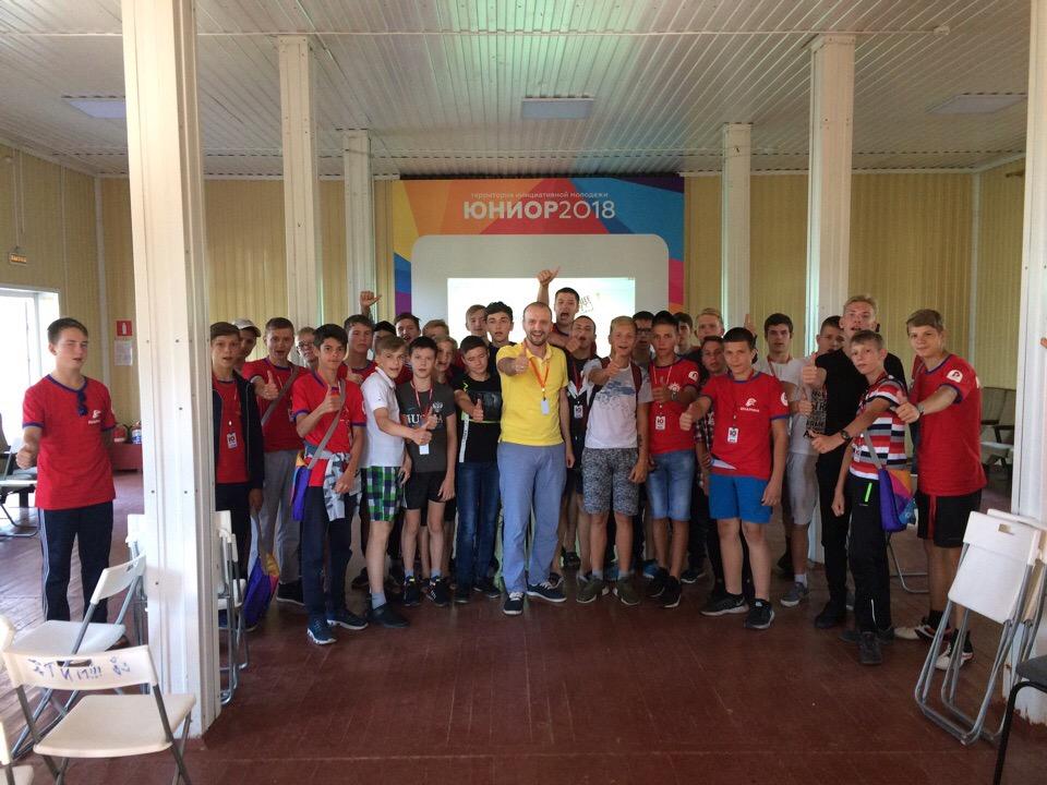 Общее дело в ТИМ «Юниор» города Красноярска