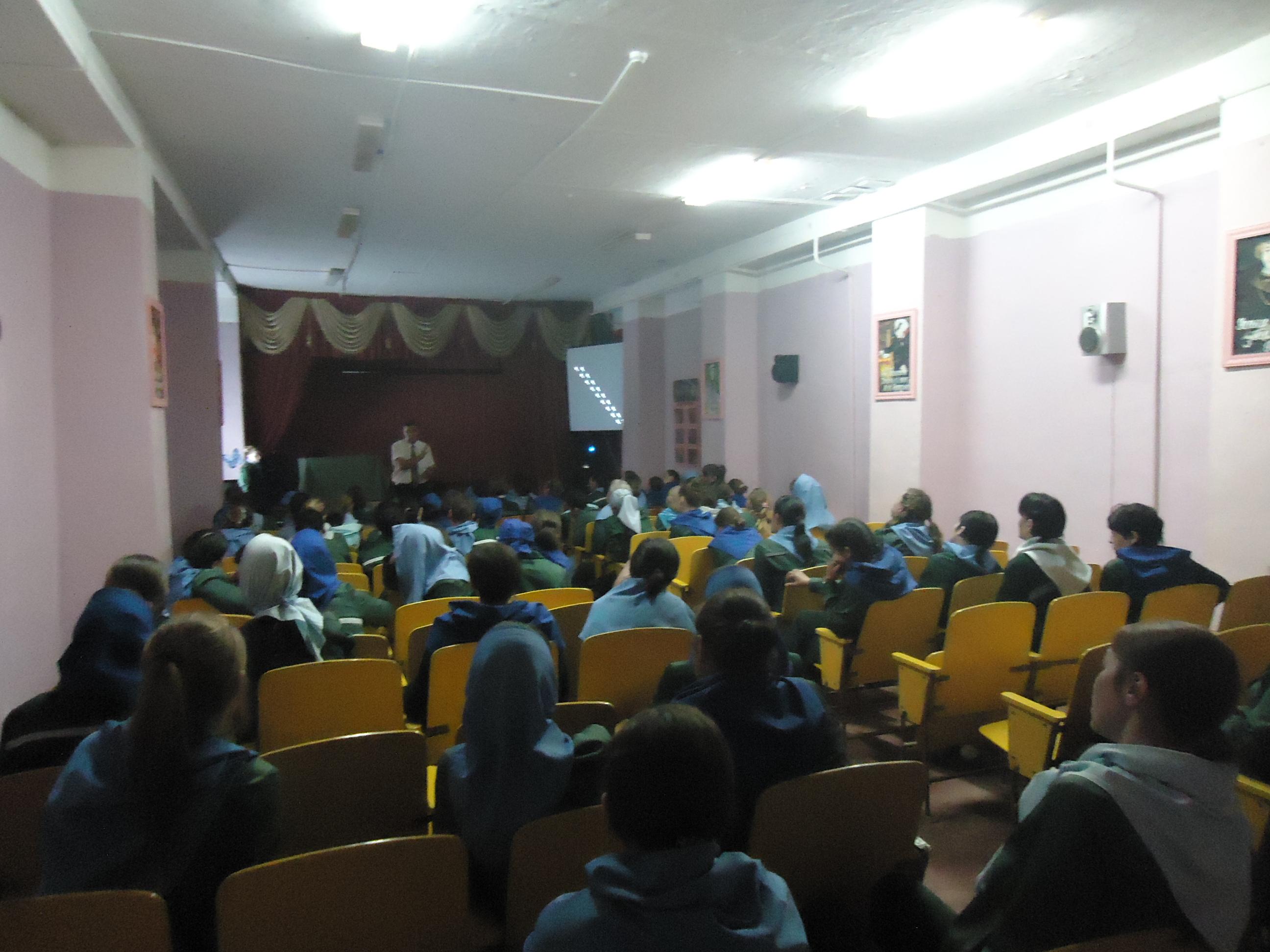 Воспитательно-разъяснительное мероприятие в Исправительной колонии 1 н. п. Икша Московской области