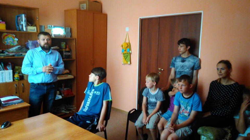 Общее дело детском доме «Островок» деревни Малый Корчуган Кемеровской области