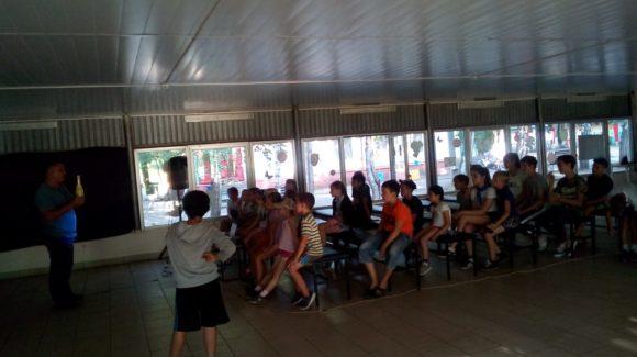 Общее дело в детском оздоровительном лагере «Романтик» города Саратова