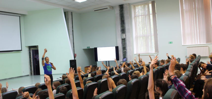 Профилактическое занятие в детском лагере «Юность» г. Альметьевска