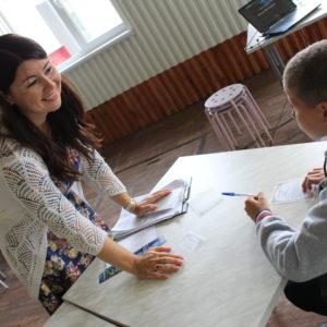 Профилактическое занятие в лагере «Березка» г. Альметьевск