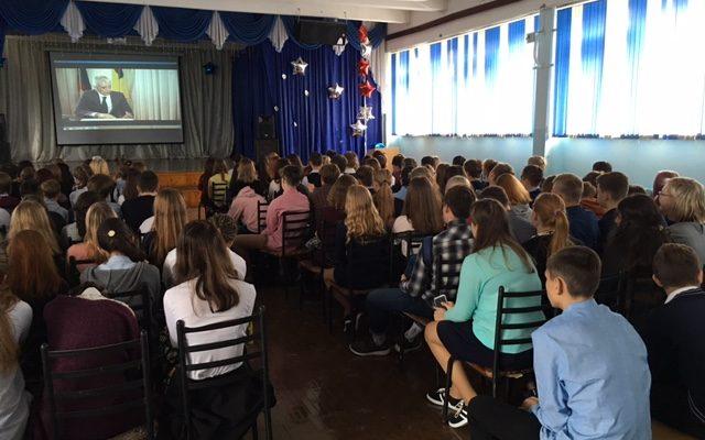 «Общее дело» в школе №85 города Екатеринбурга