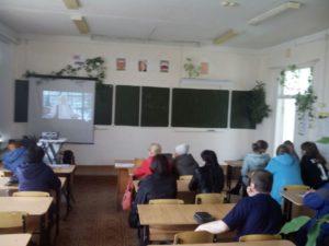 Общее дело на родительском собрании Калачинской общеобразовательной школы №2 Омской области