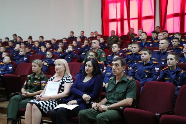 Общее дело в Аксайском Данилы Ефремова казачьем кадетском корпусе Ростовской области