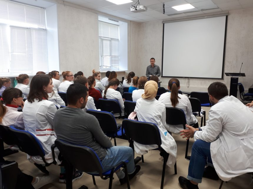 Лекторы СРОО «Общее Дело» в ГАПОУ ТО «Тюменский медицинский колледж» г. Ялуторовск