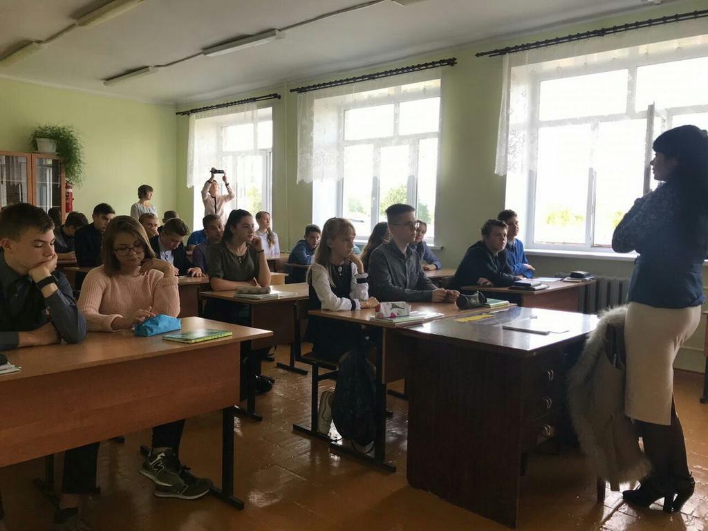«Общее дело» в школе № 19 города Кинешма Ивановской области