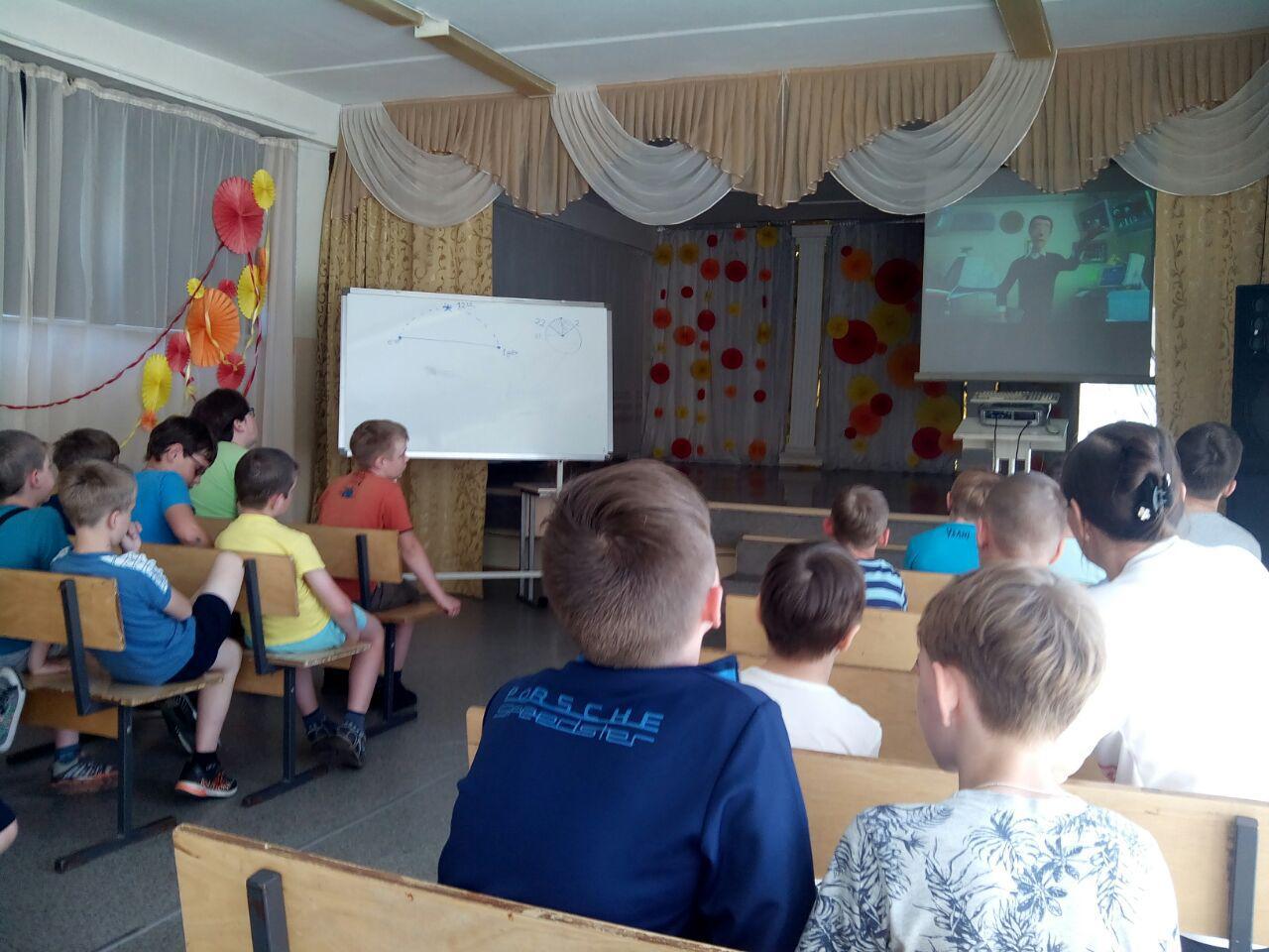 «Общее дело» в центре детского творчества (ЦДТ) г. Калачинска Омской области