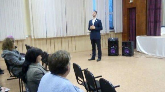 «Общее дело» на родительском собрании в школе №89 г. Омска.