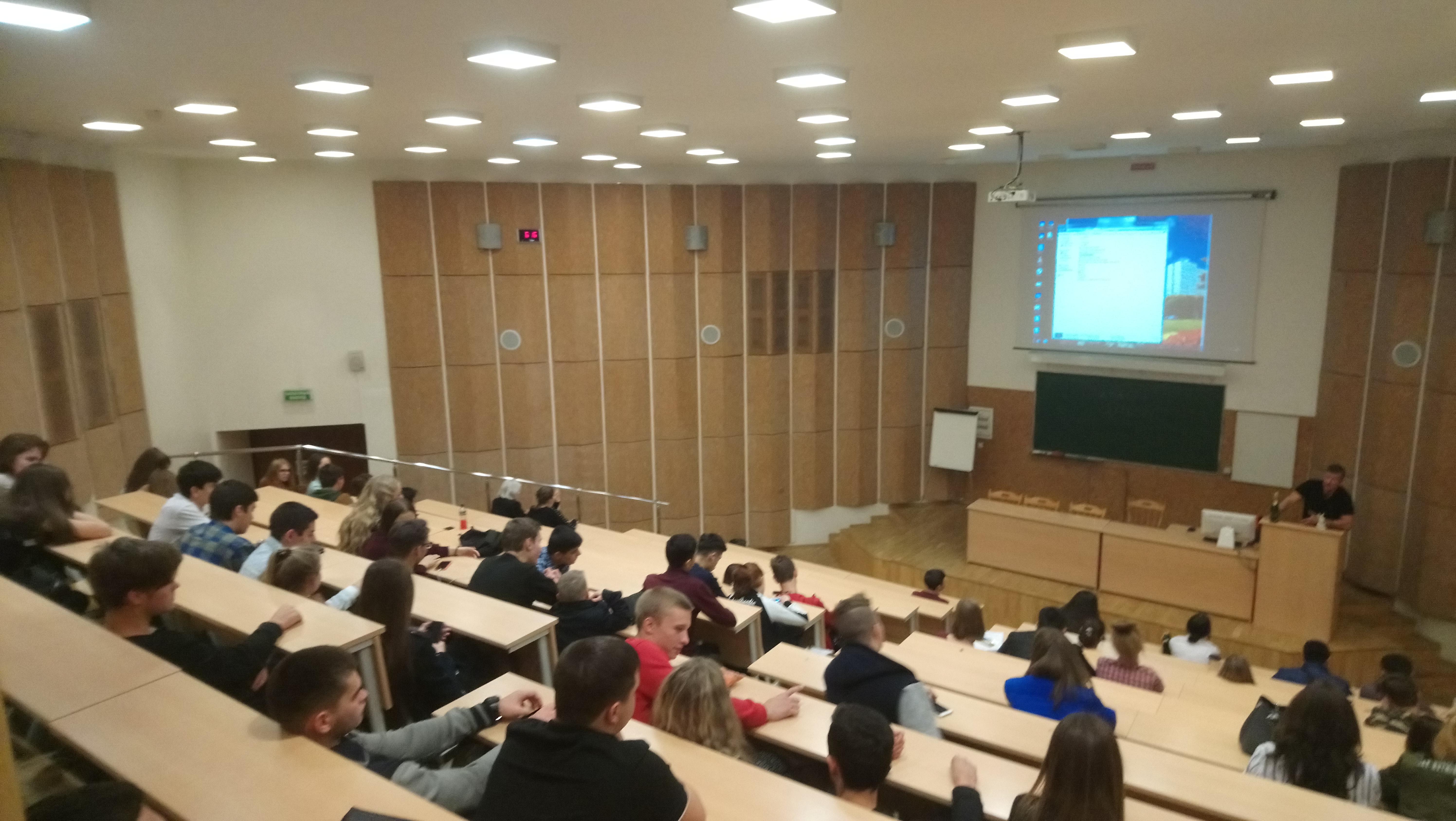 Общее дело в Академии труда и социальных отношений города Москвы