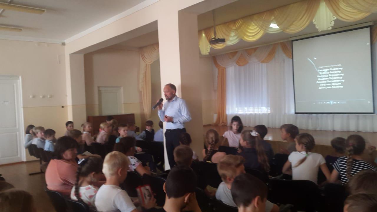 Общее дело в Самарской школе Азовского района Ростовской области