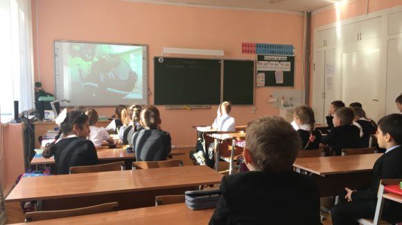 Общее дело в гостях у второклассников лицея №20 города Костромы