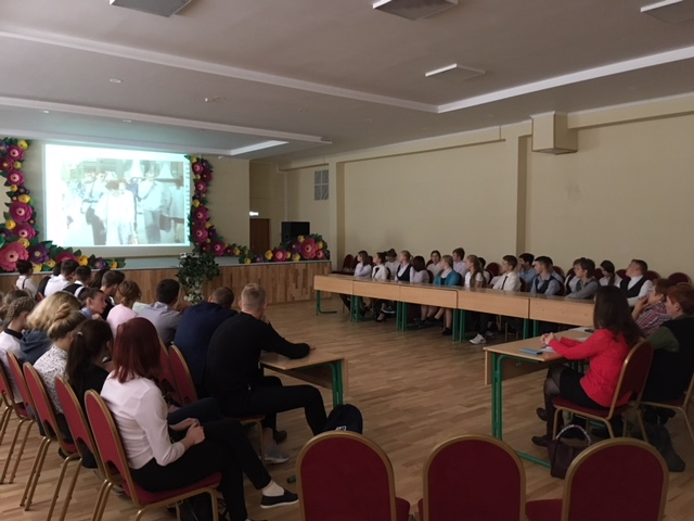 Общее дело в школе №2 г. Талдом Московской области