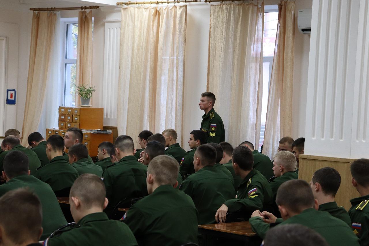 Общее дело в Краснодарском военном Шифровальном училище им. генерала Штеменко