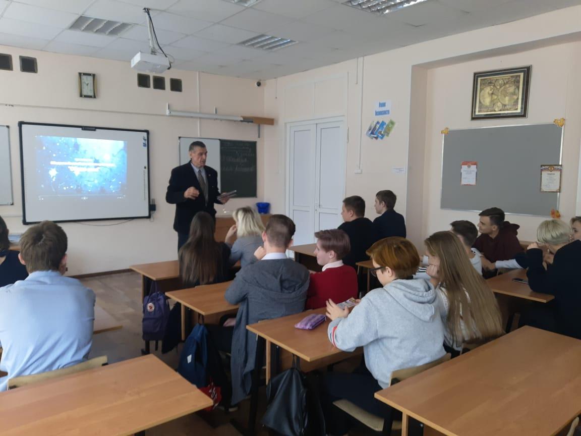 Общее дело в Звенигородской школе №2 имени Героя Советского Союза генерала Пронина