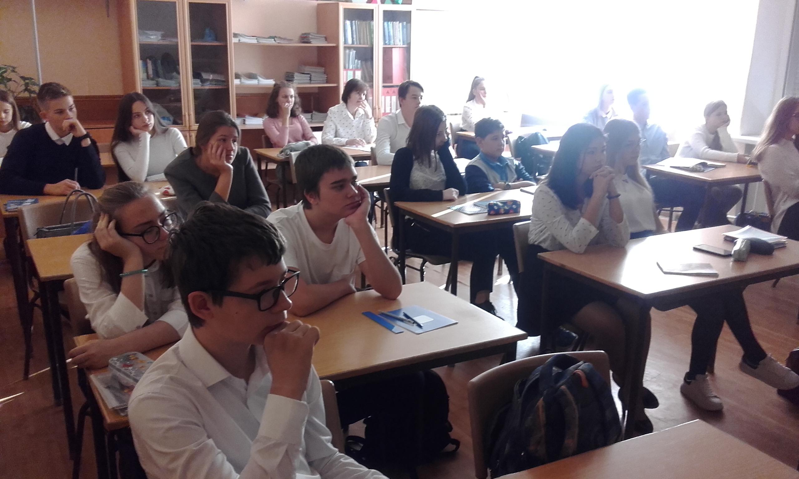Наше участие в Волгоградском месячнике профилактики
