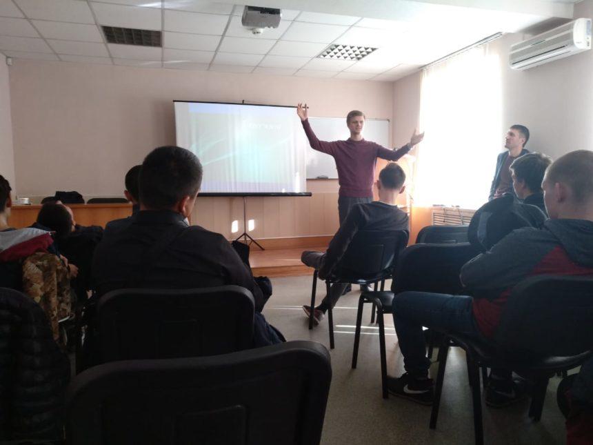 Участники СРОО «Общее дело» в Челябинской Областной клинико-наркологической больнице