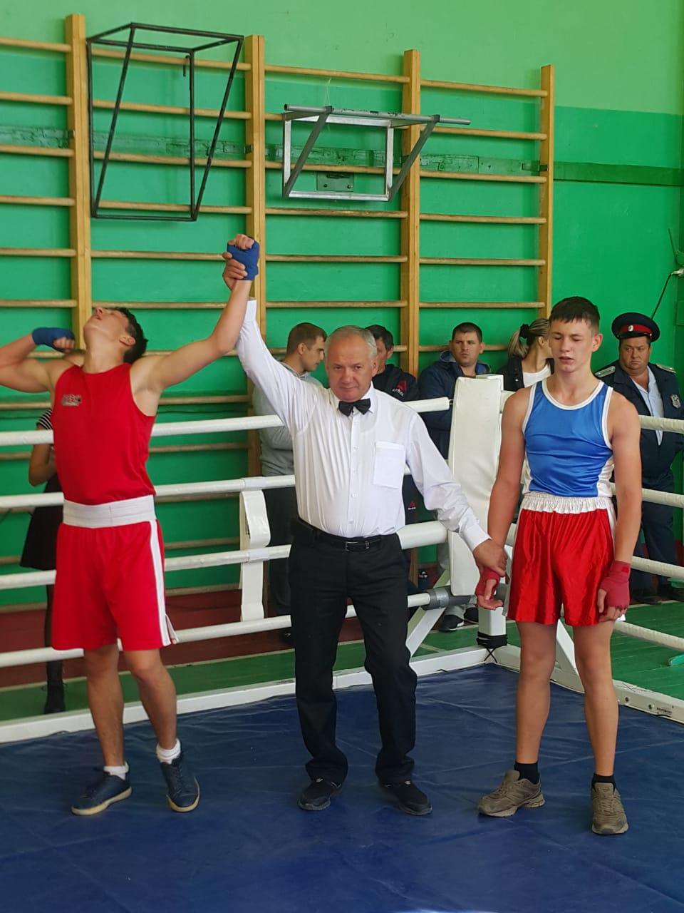 День Рождение клуба бокса Семикаракорского района Ростовской области