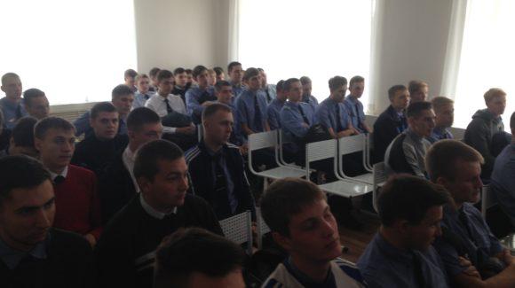 Общее дело в Барнаульском лицее железнодорожного транспорта