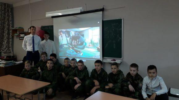 Общее дело в школе №88 города Барнаула