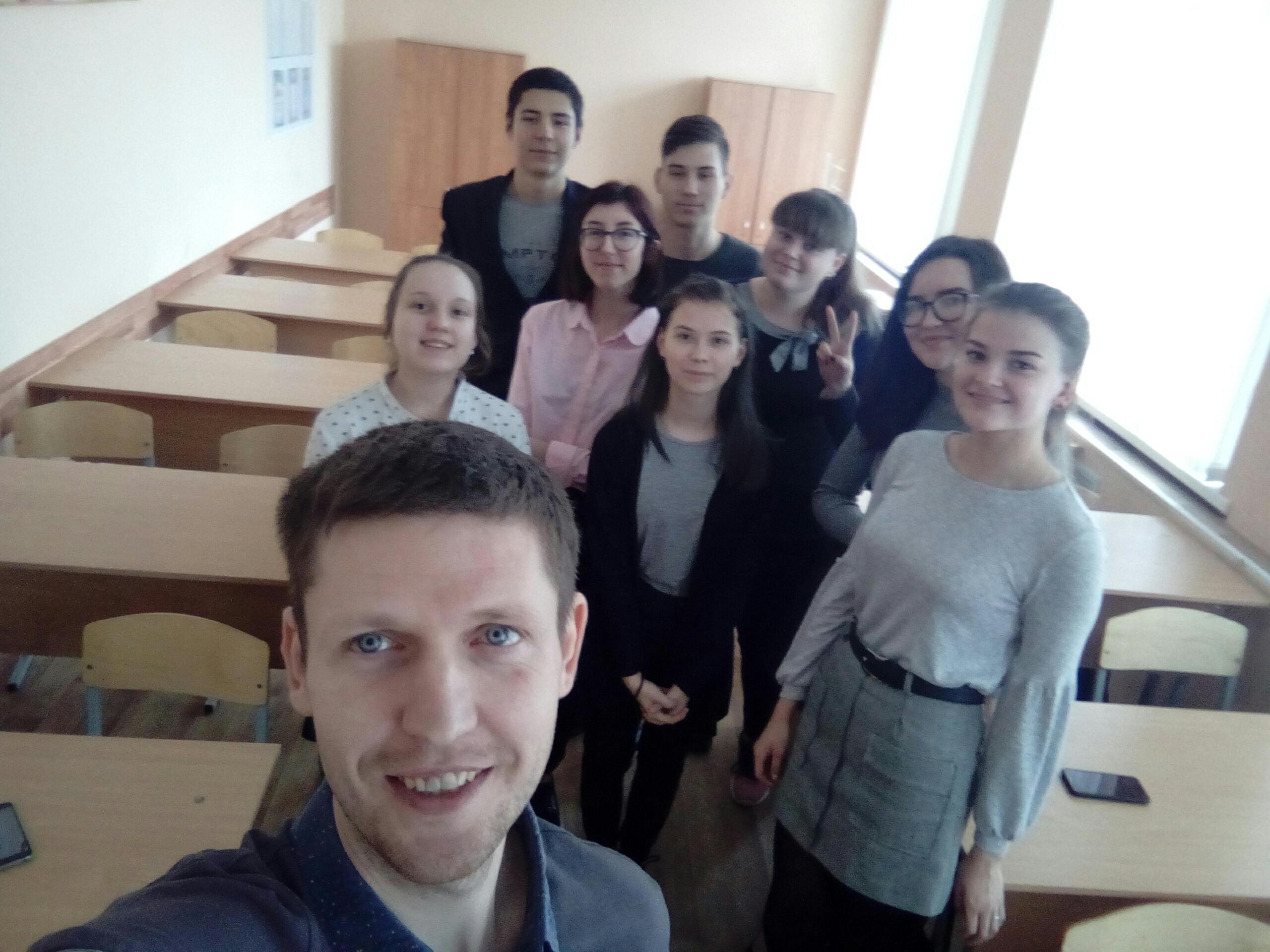 Общее дело в Никольской школе Костромской области
