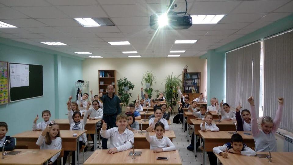 Общее дело в школах №4 и №10 города Сочи