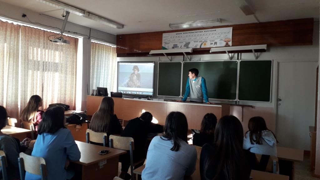 Общее дело в школе №1 города Агидель