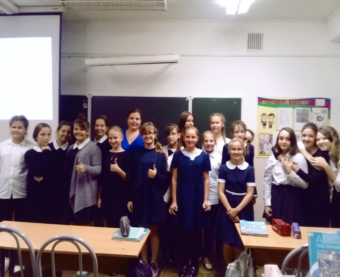 Общее дело в школе №84 г. Краснодара