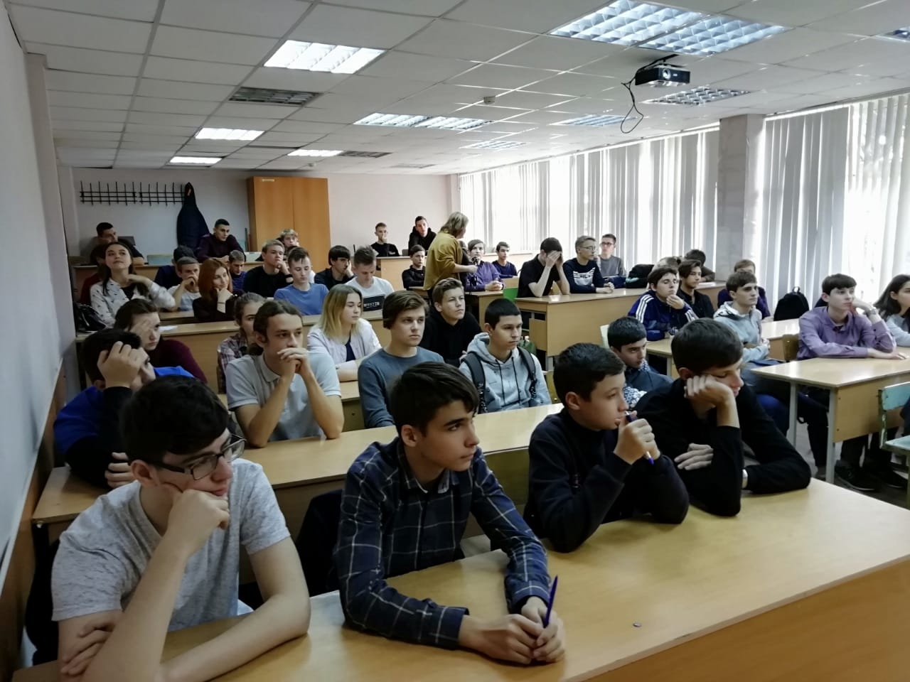 Общее дело в Краснодарском гуманитарном колледже