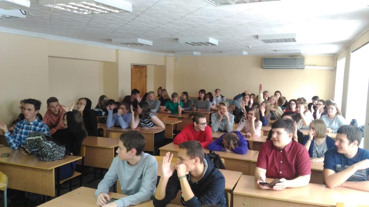 Общее дело в колледже Алтайского государственного университета