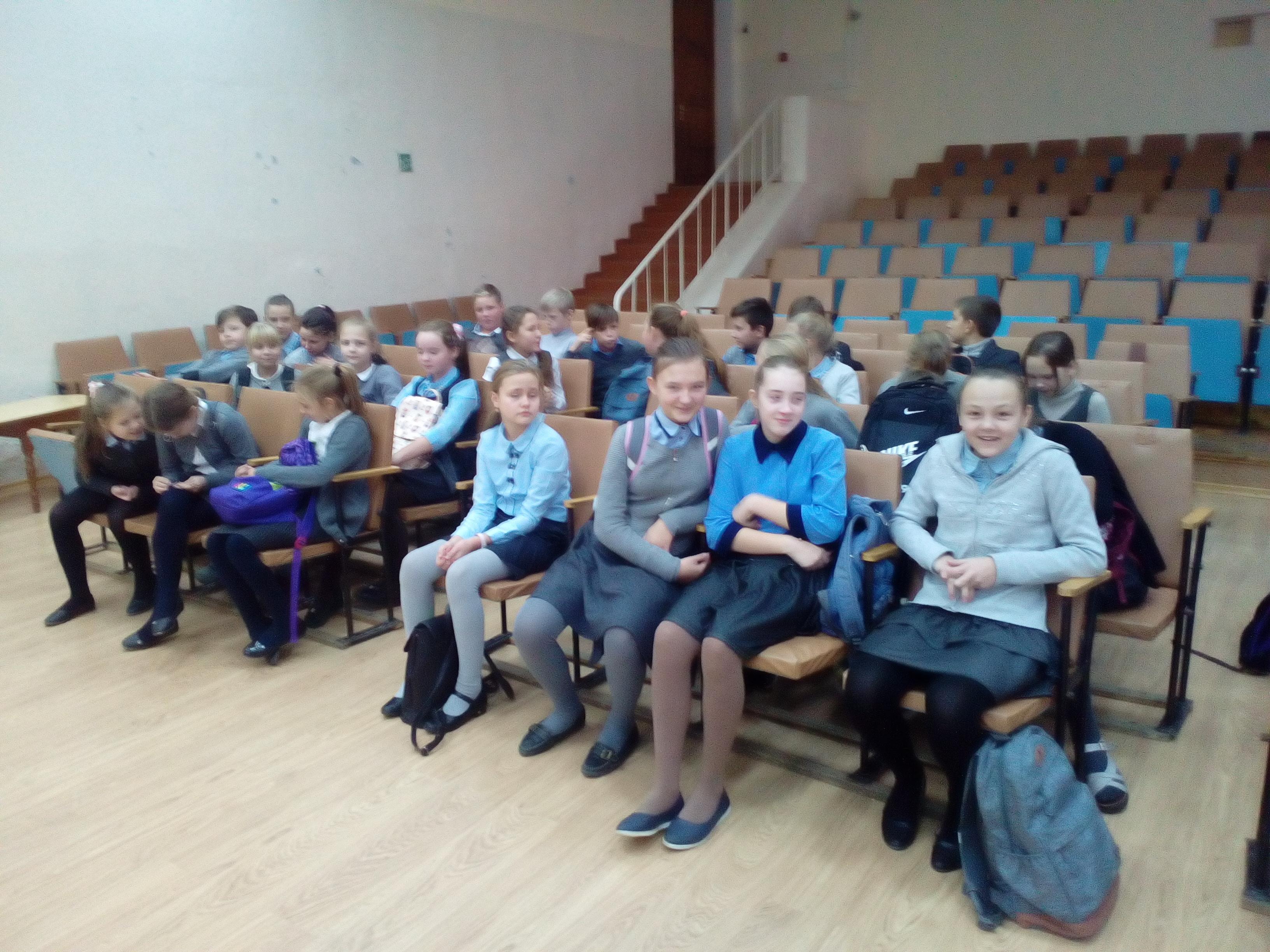Общее дело в школе №4 города Родники Ивановской области