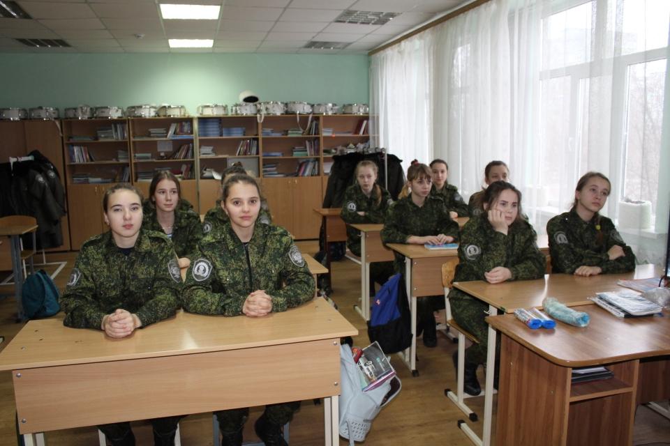 Общее дело в Белокалитвинском Матвея Платова казачьем кадетском корпусе.