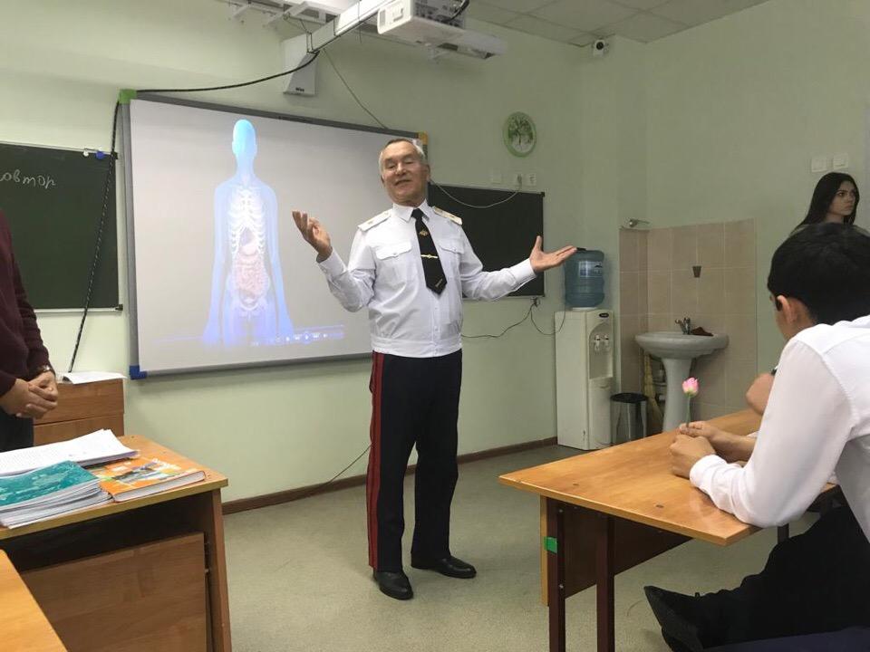 Общее дело в школе №100 и в Военном институте береговой охраны город Адлер