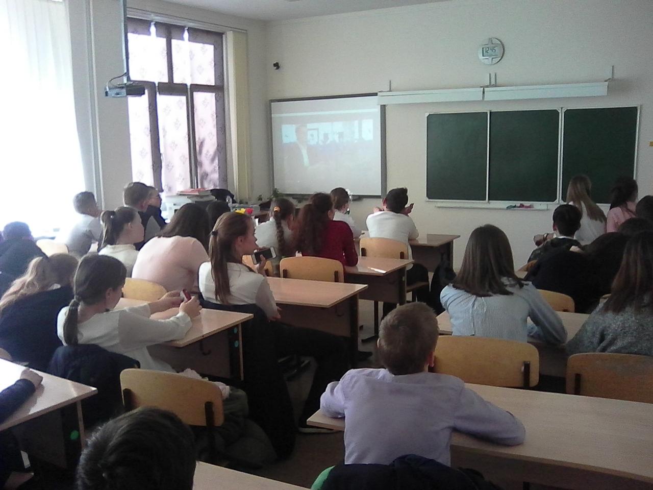 Общее дело в школе №73 Ростова-на-Дону